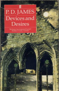 devices and desires by pd james - my old paperback 9-9-15