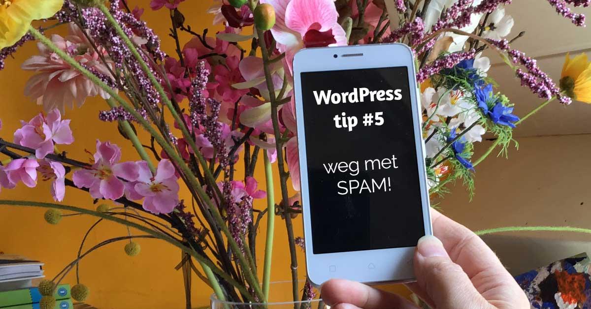 Voorkom SPAM op je WordPress website