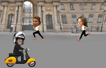 French-President-Love-Affair-Scooter