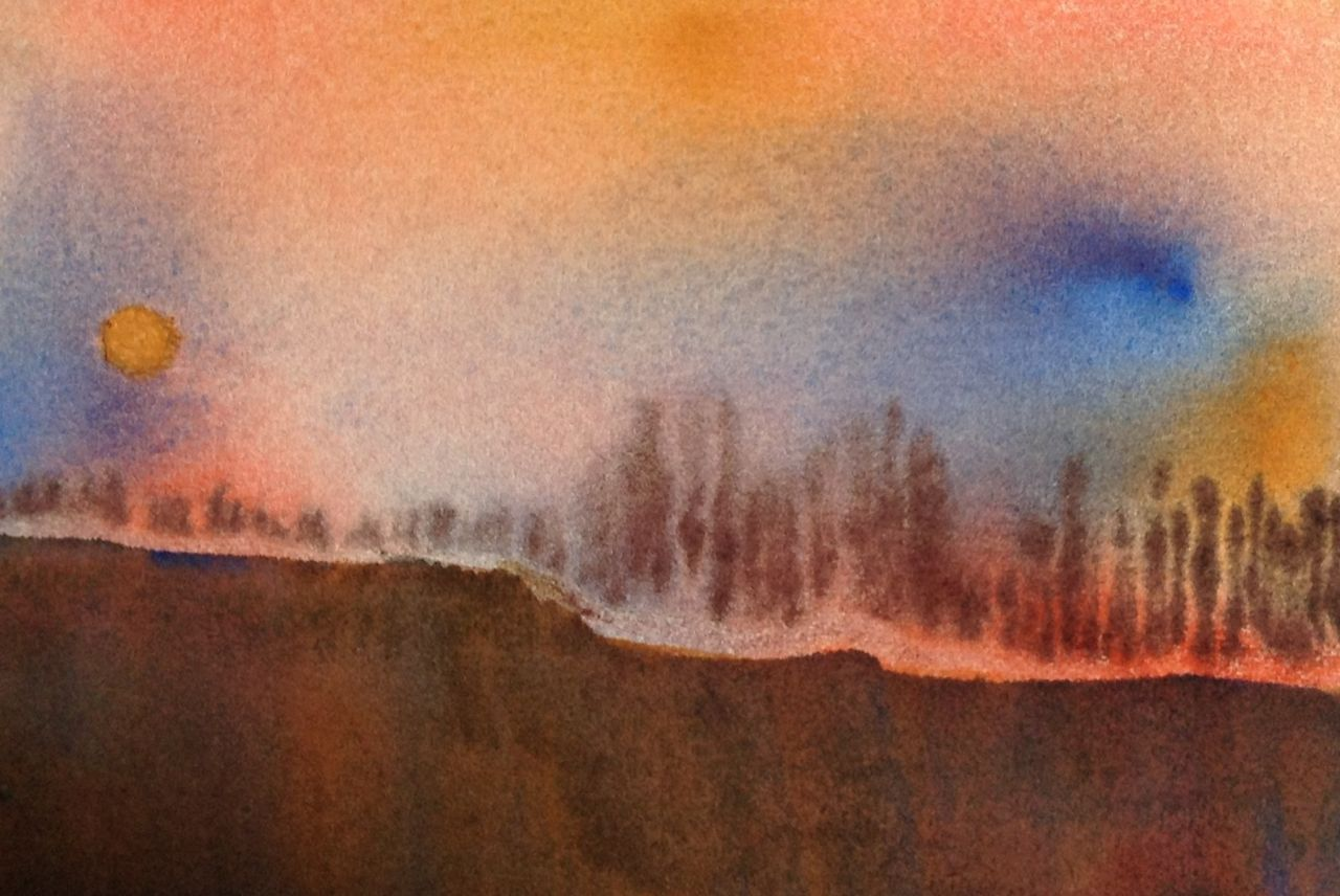 watercolour therapy sandra gulland before heading out i searched my computer for for the address but up popped a biographical essay i wrote many years ago watercolors