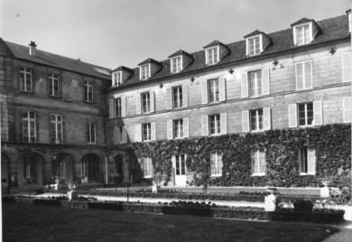 Inner courtyard mid-19th century