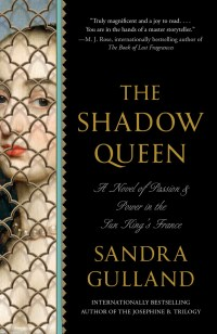The Shadow Queen by Sandra Gulland, Anchor (US) ppbk cover