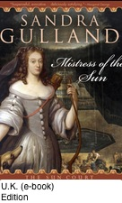 Mistress of the Sun - U.K. eBook Cover