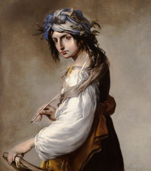 "Lucrezia as Poetry"" by Salvator Rosa."