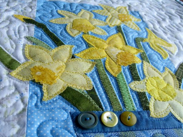 Quilted Daffodils
