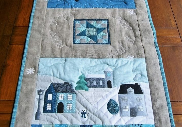 Let It Snow Tablerunner