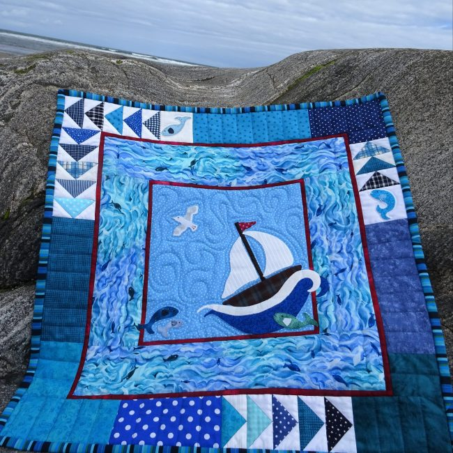 Quilt at the Sea