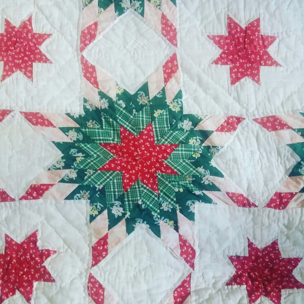 Sandra Healy Designs Vintage folk quilts detail