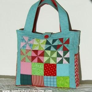 Sandra Healy Designs Pinwheel Bag Pattern