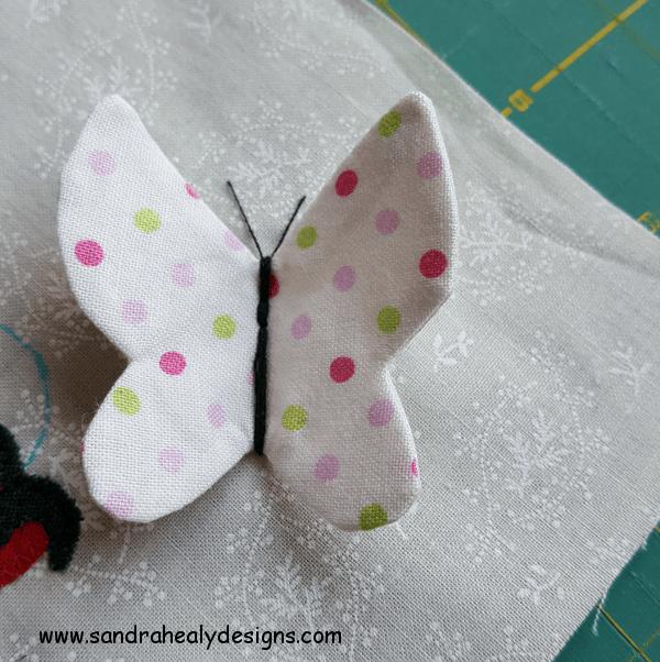 Sandra Healy Designs Calendar Quilt Butterfly