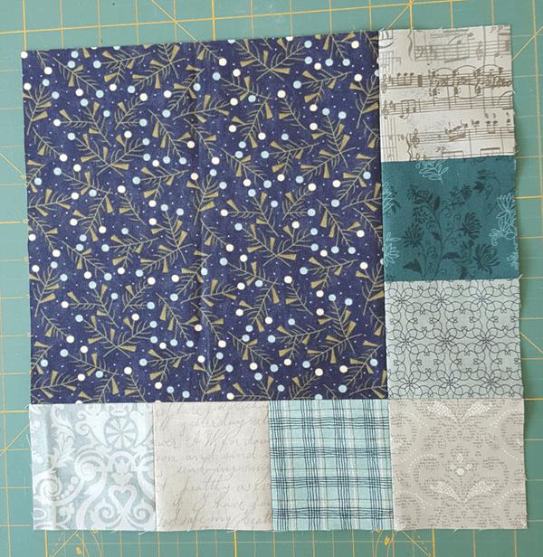 Sandra Healy Designs 'I Wish You a Merry QAL' Block 6