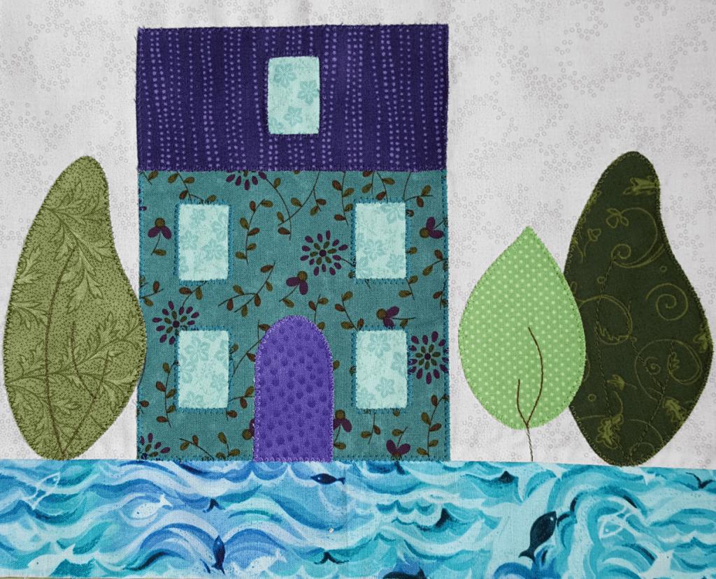 Sandra Healy Designs, In My Neighborhood, Sea House