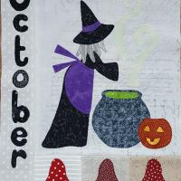 Calendar Quilt – October
