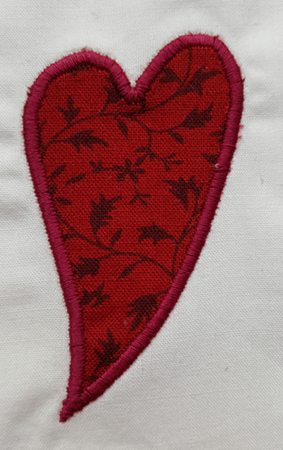 How to Machine Appliqué Satin Stitch Appliqué