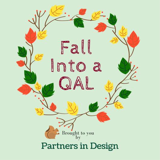 Sandra Healy Designs Fall Into a Quiltalong