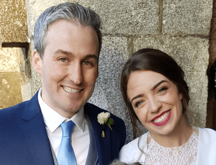 Sandra Healy Designs Wedding couple