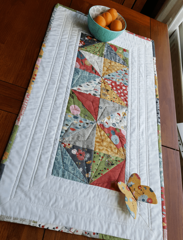 Sandra Healy Designs Snippets of Summer Table runner