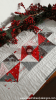 Seaosnal Snippets Table runner Christmas version