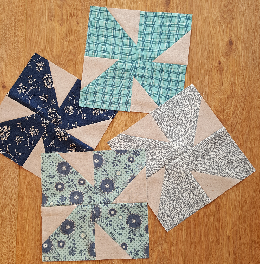 Sandra Healy Designs Turnabout Patchwork Sweet Bow blocks