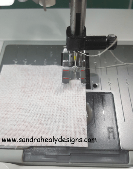 Sandra Healy Designs How to Test Your Seam Allowance