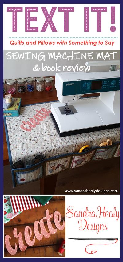 Sandra Healy Designs, Text It! Blog Hop pin