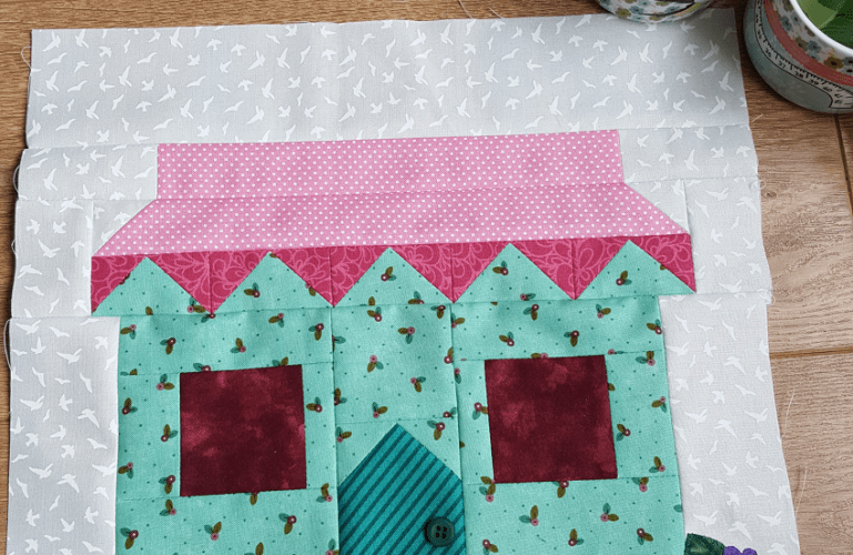 Sandra Healy Designs, Sew Let's QAL, Block 5, Quilt Shop