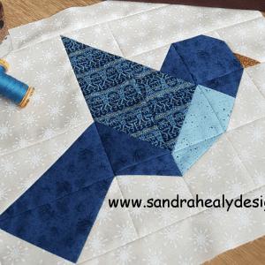 Sandra Healy Designs Bird Block