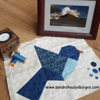 Sandra Healy Designs bird block