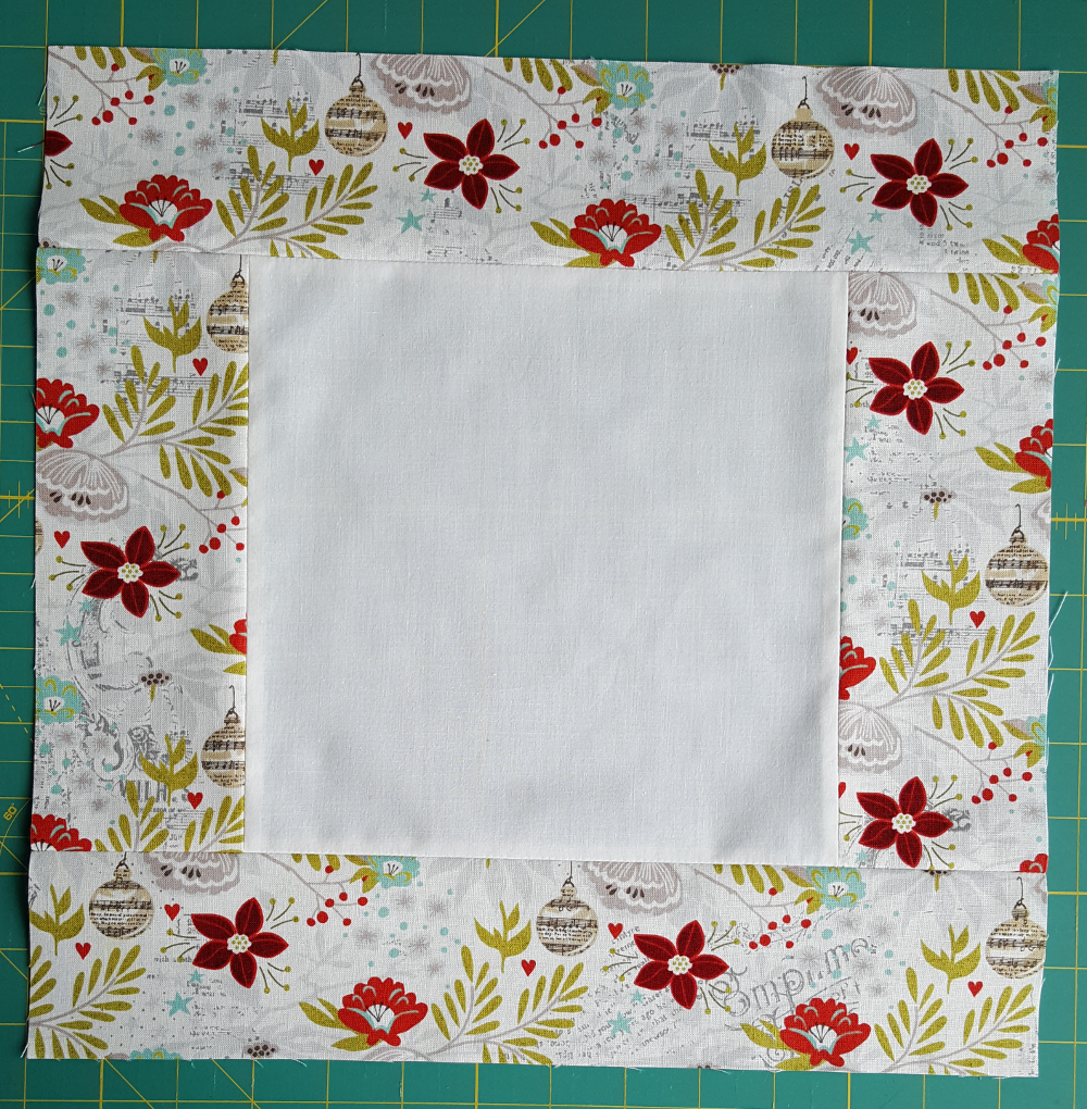 Sandra Healy Designs, Dove Mini Quilt inner borders