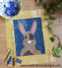 Sandra Healy Designs 'The Bunny Bunch' rabbit block