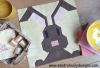 Sandra Healy Designs Styled bunny quilt block