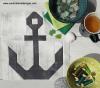 Sandra Healy Designs anchor quilt block