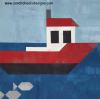 Sandra Healy Designs plain boat quilt block