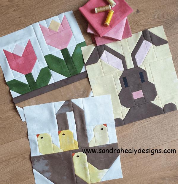 Sandra Healy Designs spring small pattern bundle