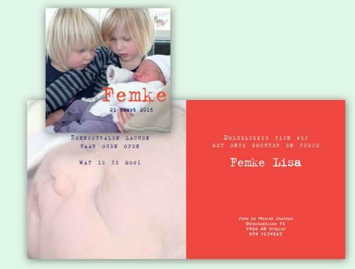 Fotokaart Femke