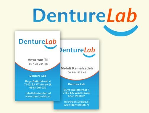 DentureLab ontwerp logo en huisstijl