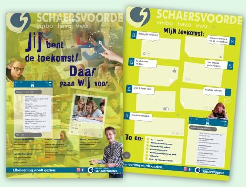 Ontwerp en opmaak poster Schaersvoorde