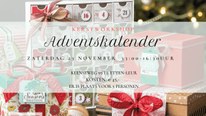 workshop Adventskalender maken