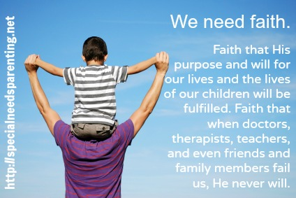 we need faith - sandrapeoples.com