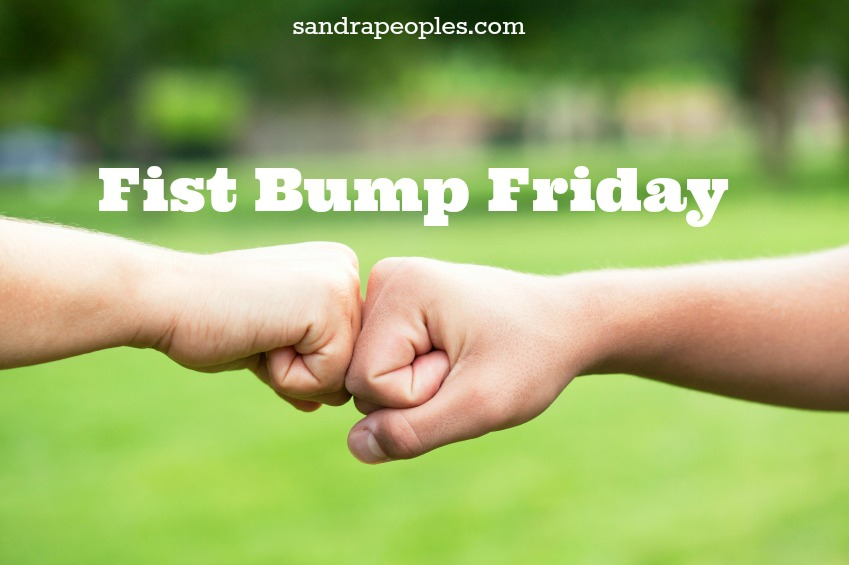 Fist bump friday rolling along sandra peoples fist bump friday rolling along m4hsunfo