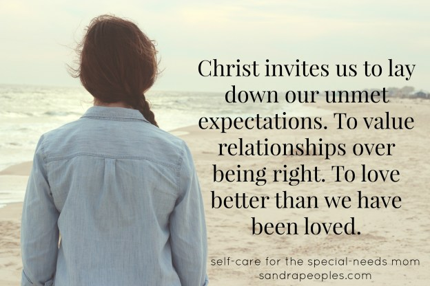 Christ invites us to forgive. - sandrapeoples.com