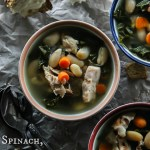 Spinach, Beans and Barley Soup