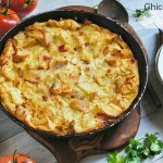 Chicken and Sun-Dried Tomatoes Clafoutis