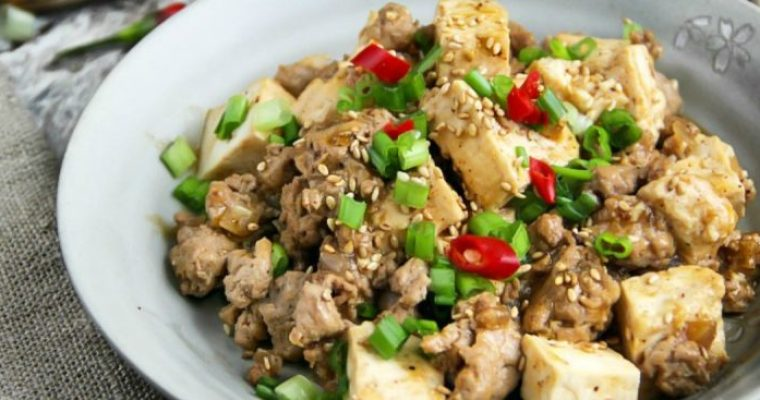Sichuan Mapo Tofu (Má Pó Dòufu)
