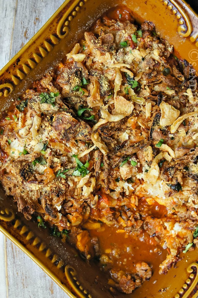 Beef and Vegetable Casserole