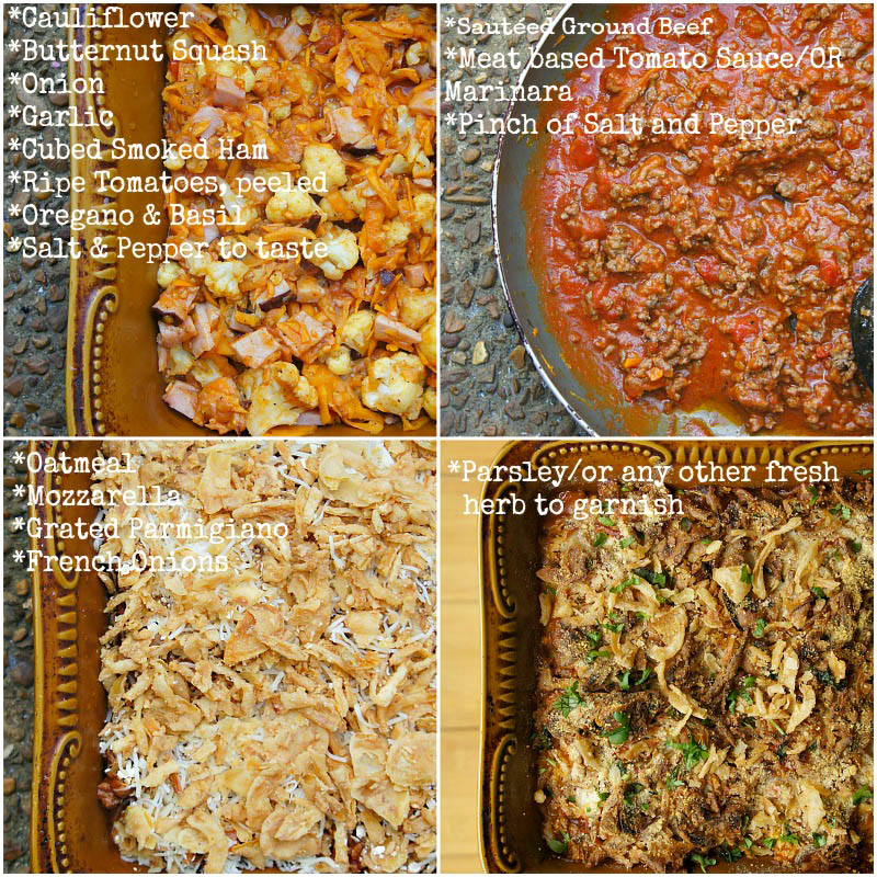 Fall Recipe for beef and vegetable Casserole