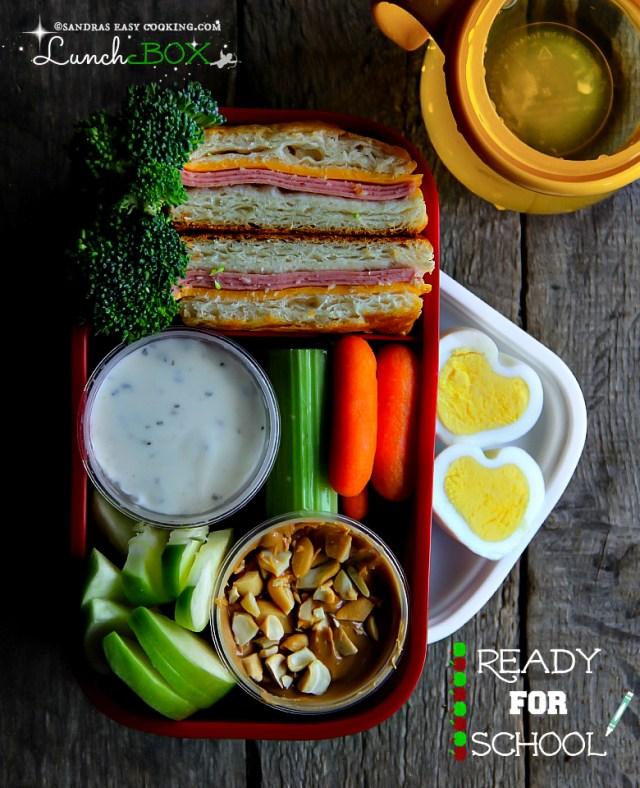 Lunch Box Biscuit Deli Turkey Sandwiches