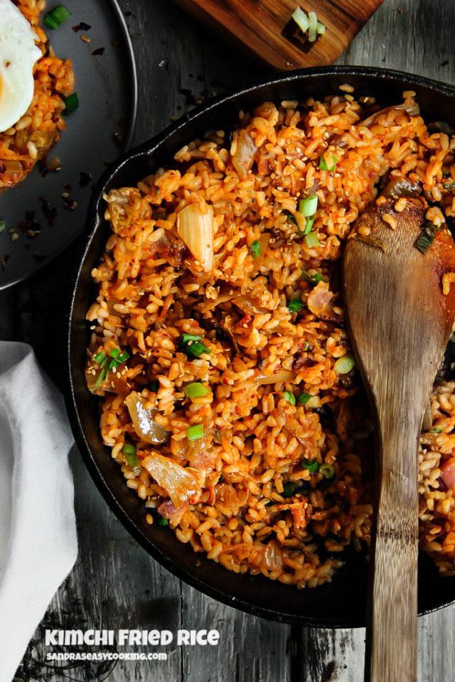 kimchi bokkeumbap - Korean Kimchi Fried Rice
