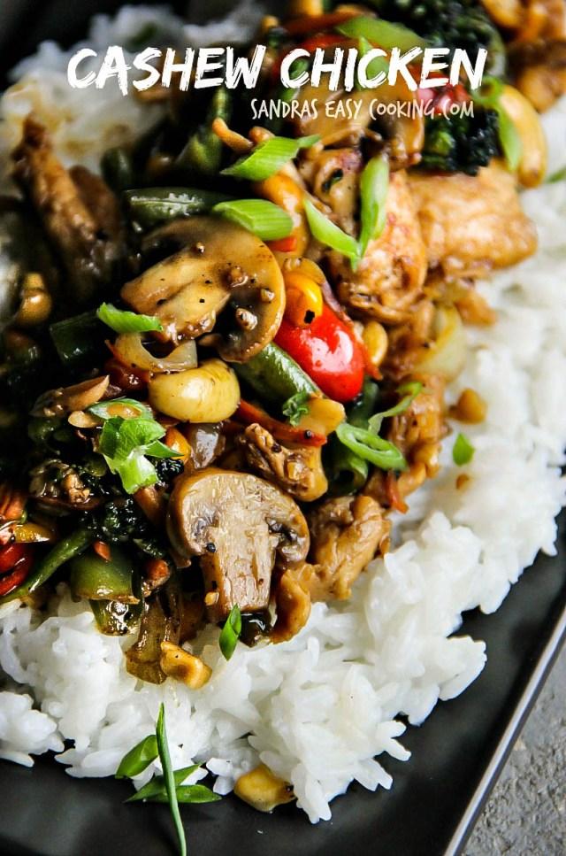 The Best Cashew Chicken Recipe