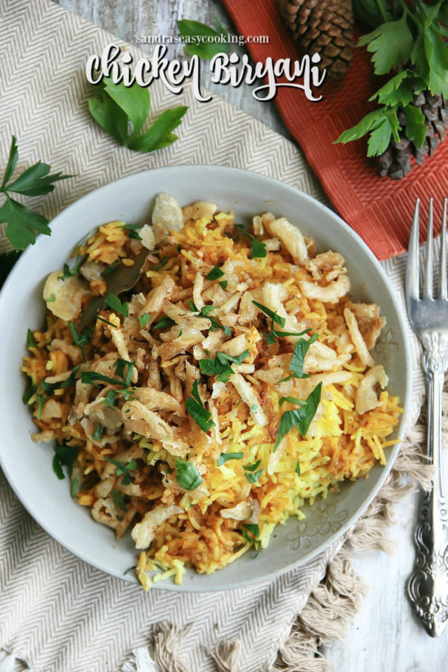 Easy Chicken Biryani
